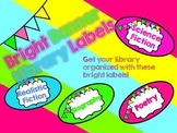 Bright Banner Library Labels