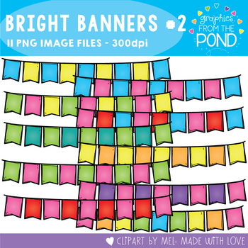 Bright Banners Set 2