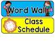 Bright Behavior Chart, AR Line, & Bulletin Board Headers