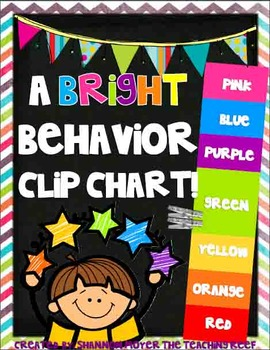 Bright Behavior Clip Chart