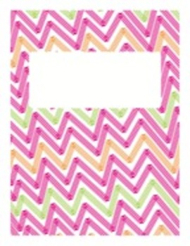 Bright Binder Cover