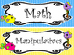 Bright Birdies themed Printable Classroom Center Signs. Cl