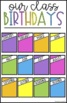 Bright Birthday Display Set