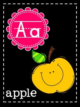 Bright & Black Alphabet