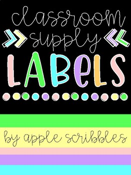 Bright & Black Supply Labels