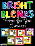 Classroom Decor - Bright Blends Posters