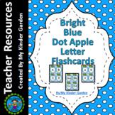 Blue Dot Apple Alphabet Letter Flashcards