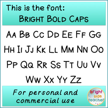 Bright Bold Caps Font