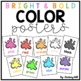 Bright & Bold Color Posters