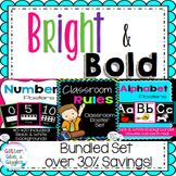Bright & Bold Wall Decor Bundle