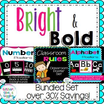 Bright & Bold Wall Decor Bundle