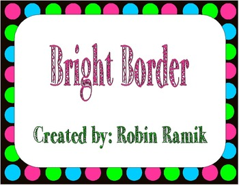 Bright Border