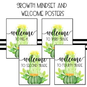 Bright Cactus Posters