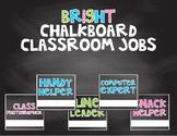 Bright Chalkboard Classroom Jobs