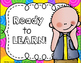 Bright Classroom Decor: Rules, Clip Chart & More EDITABLE