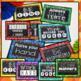 Bright Chalkboard Classroom Rules Editable