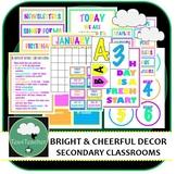 Bright & Cheerful Classroom Décor Set
