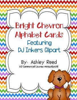 Chevron Alphabet Cards