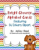 Chevron Alphabet Cards