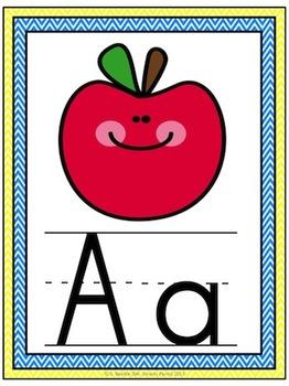 Alphabet I Know Posters