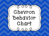 Bright Chevron Behavior Chart
