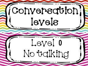 Bright Chevron C.H.A.M.P.S Conversation levels