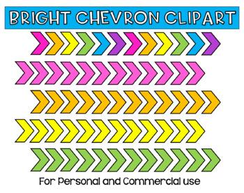 Bright Chevron Clipart