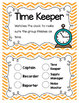 Bright Chevron Cooperative Group Roles- Posters and Student Tags