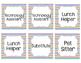 Bright Chevron Helper Job Labels