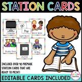 Editable Station Cards