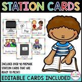 Editable Station Cards