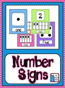 Number and Ten Frame Posters