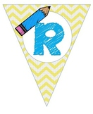 Bright  Chevron Read/ Reading Banner