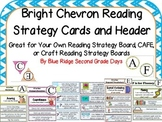 Bright Chevron Reading Strategy Cards - Your Own Strategy
