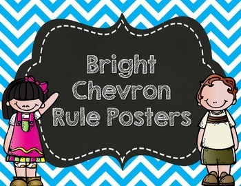 Bright Chevron Rule Posters- Customized for you!