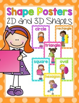 Shape Posters {2D and 3D}