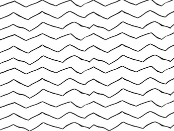 Bright Chevron Stripes - Hand Drawn (Commercial Use OK!)
