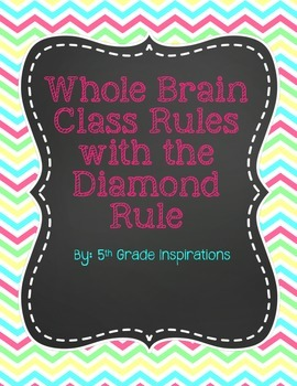 Bright Chevron Whole Brain Rules With Diamond Rule