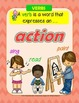 Verbs - Bright Chicks Posters and Student Mini Books