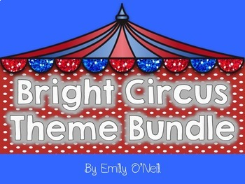 Bright Circus Theme Bundle