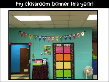 Bright Classroom Banners