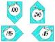 Bright Classroom Clock Labels