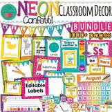 Bright Color Classroom Decor