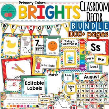 Classroom Themes Decor Bundle