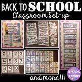 Bright Classroom Display Bundle