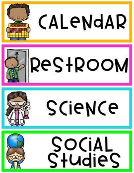 Bright Classroom - EDITABLE (The Bundle)