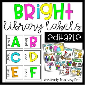 Classroom Library Labels Worksheets & Teaching Resources | TpT