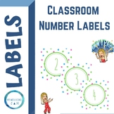 BRIGHT Classroom Number Labels