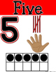 SIMPLE & CLEAN: Skin-tone Number Posters -or- Take Home Flashcards (0-20)