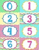 Bright Classroom Numbers 0-120